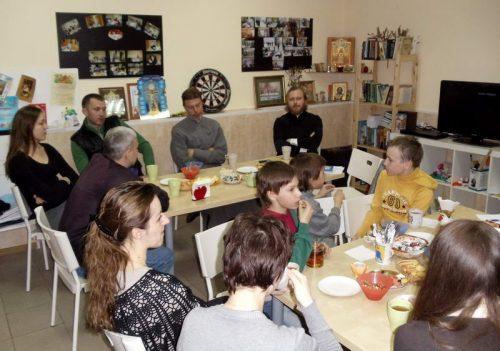 20 апреля в православном молодежном клубе «НЕОФИТ» состоялась встреча на тему: «Христианство – религия рабов или свободных?»