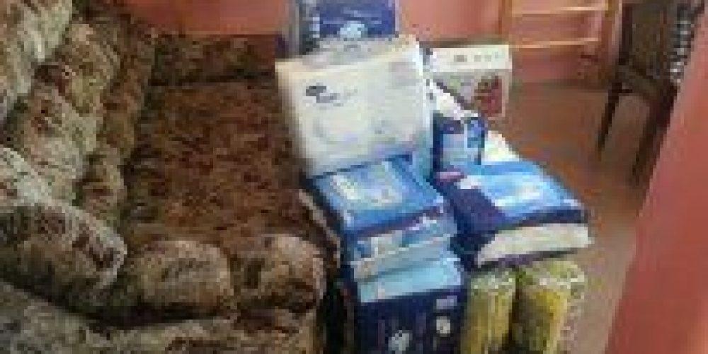 Спасибо всем, кто помог с покупкой средств по уходу на лежачими больными, спасибо всем, кто жертвовал памперсы в храмы, всем, кто помогал с перевозкой этой гуманитарной помощи!