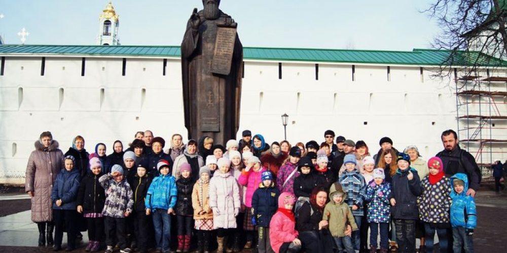 Воскресная школа в Троице-Сергиевой Лавре
