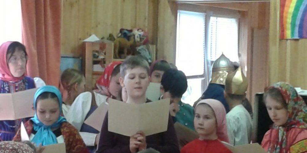 Концерт в воскресной школе