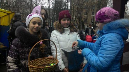 Благотворительная ярмарка в храме прав. Иоанна Русского