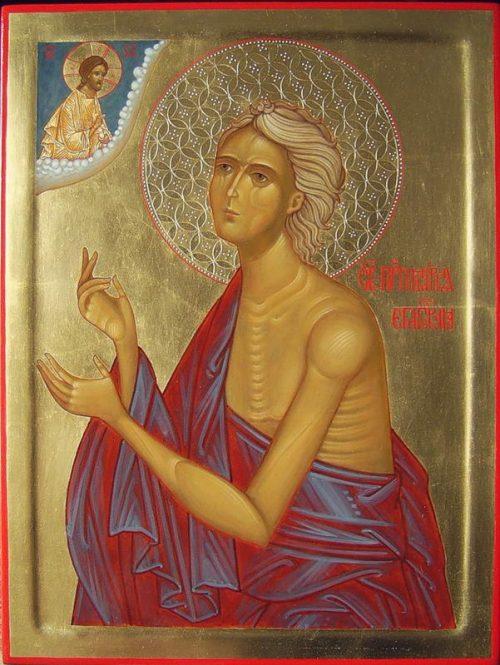 Неделя 5-я Великого поста. Святая Мария Египетская: со дна греховной жизни вознестись на высоту святости