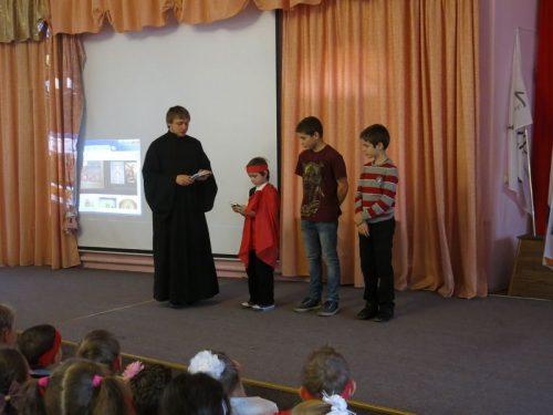Престольный праздник в Воскресной школе храма Архистратига Михаила в Тропареве