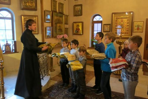 Первая Литургия для детей в начале Рождественского поста