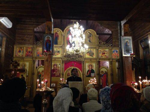 Евангельская беседа в храме Святителя Спиридона Тримифунтского в Фили-Давыдково