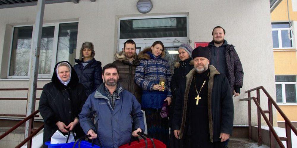 Поздравление с Рождеством больных в ГКБ №71