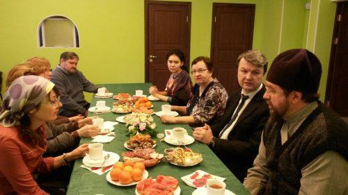 Встреча с учителями района Кунцево в храме прав. Иоанна Русского