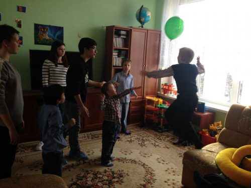 Масленица для воспитанников детского дома
