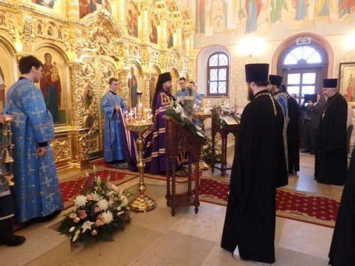 """Престольный праздник в храме """"Неувядаемый Цвет"""" в Рублево"""