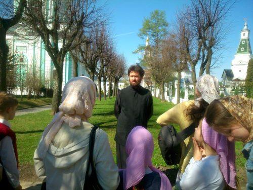Паломничество к св.преп.Сергию Радонежскому