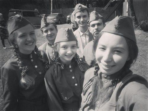 8 мая на территории храма прп. Серафима Саровского в Кунцеве состоялся праздничный концерт, посвященный Дню Великой Победы