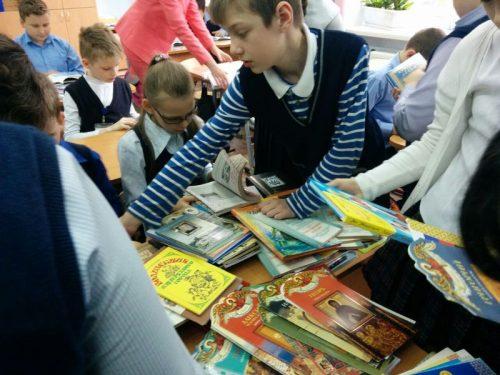 Приход храма принял участие в благотворительная акция «Подари книгу детям»!