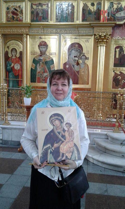 """Вручение иконы Матери Божией """"Воспитание"""""""