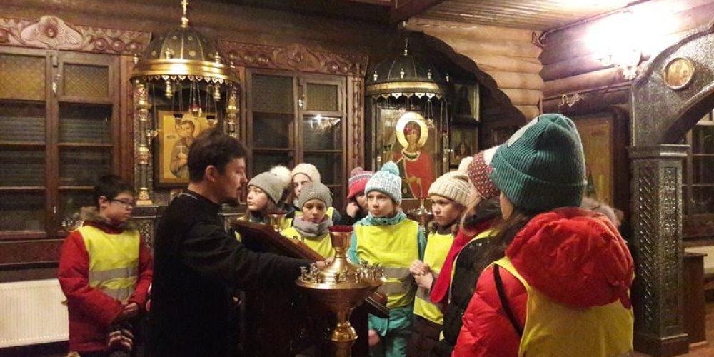 Февральские экскурсии для школьников в храм прав. Иоанна Русского в Кунцево