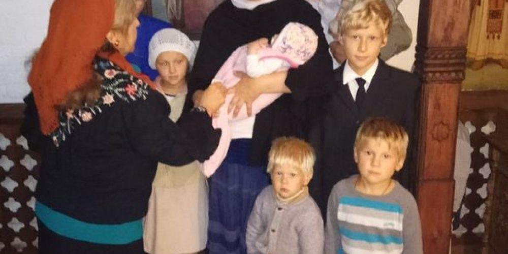Помощь семьям к учебному году в Троице-Голинищеве