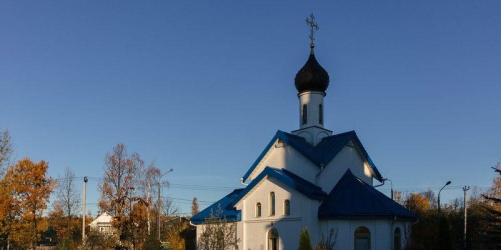 Фоторепортаж с Великого освящения храма Покрова Пресвятой Богородицы в Толстопальцеве