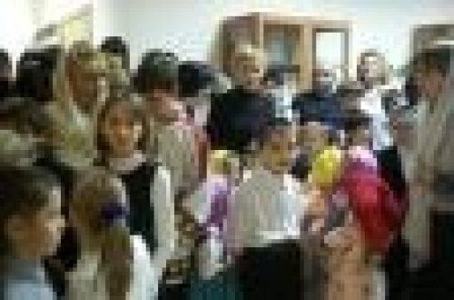 Епископ Игнатий посетил детский реабилитационный центр Красносельский и освятил там домовый храм