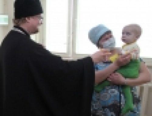 Епископ Бронницкий Игнатий поздравил пациентов и сотрудников Бакулевского института