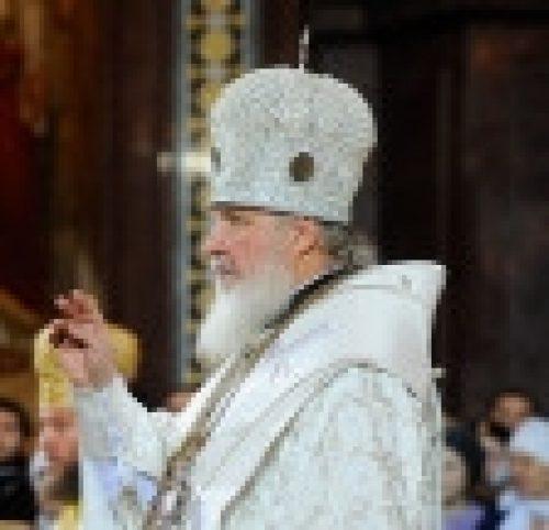 Епископ Бронницкий Игнатий сослужил Святейшему Патриарху за Великой вечерней в храме Христа Спасителя