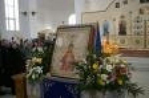 Епископ Игнатий совершил божественную литургию в храме Божией Матери Державная в Чертаново