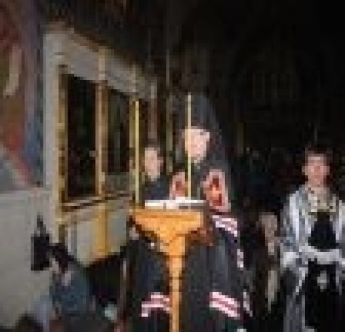 Вчера епископ Игнатий завершил чтение канона Андрея Критского в нашем храме