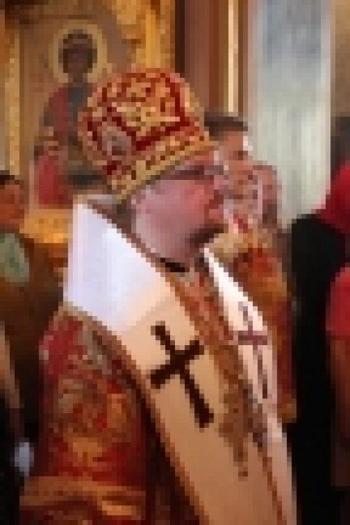 В день памяти свв. мчч. блгвв. князей Бориса и Глеба епископ Бронницкий Игнатий совершил Божественную литургию в  храме свв. Бориса и Глеба в Дегунине