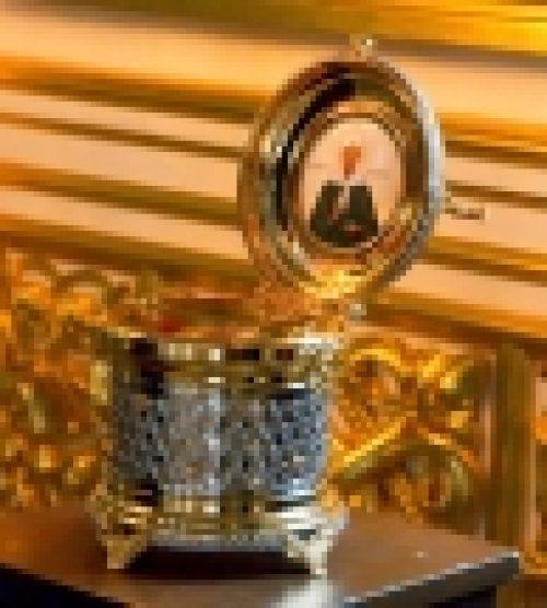 Настоятель храма Рождества Иоанна Предтечи на Пресне епископ Бронницкий Игнатий совершит чин освящения новых икон