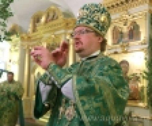 Епископ Выборгский и Приозерский Игнатий принял участие в празднование дня памяти прп. Арсения Коневского