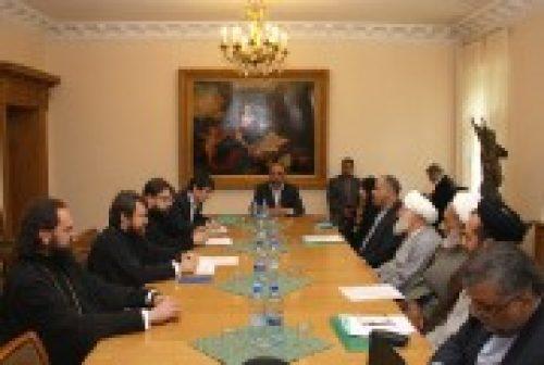 Председатель Отдела внешних церковных связей встретился с делегацией Исламской Республики Иран
