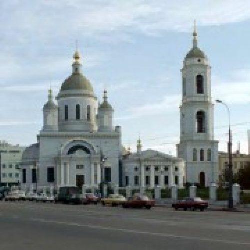 Престольный праздник состоялся в храме преподобного Сергия Радонежского в Рогожской слободе