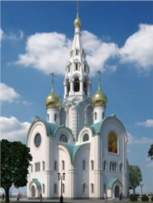 Святейший Патриарх Кирилл совершил чин освящения закладного камня в основание храма в честь иконы Божией Матери «Иверская» при Академии ФСБ России