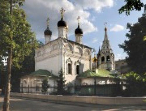 Епископ Подольский Тихон совершит Божественную литургию в храме Преображения Господня на Песках
