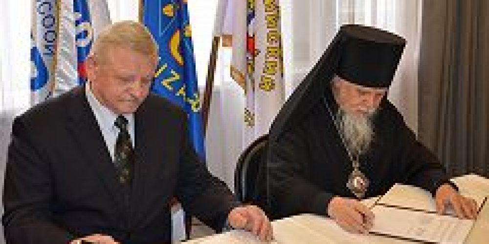 Подписано соглашение о сотрудничестве между Синодальным отделом по церковной благотворительности и социальному служению и Всероссийским обществом глухих