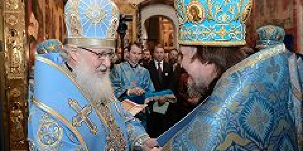 Благочинный Богоявленского округа архимандрит Дионисий (Шишигин) удостоен ордена «Славы и чести» III степени