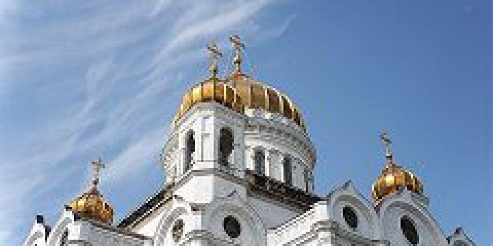В Великий четверг Святейший Патриарх Кирилл совершил Литургию и чин освящения мира в Храме Христа Спасителя