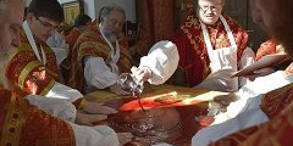 Епископ Выборгский и Приозерский Игнатий совершил великое освящение храма Воскресения Христова в Толстопальцево