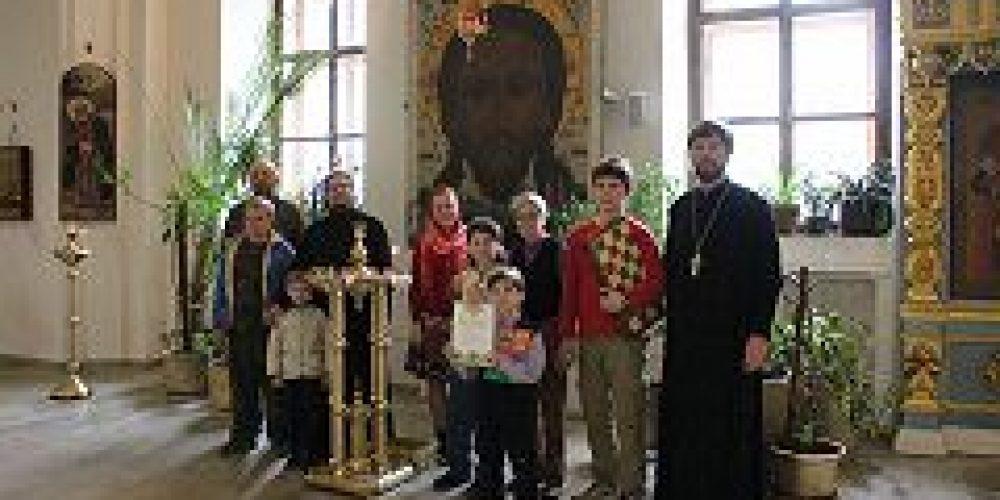 В воскресной школе при храме свт. Николая Мирликийского на Трех Горах состоялся первый детский межприходской турнир по шахматам