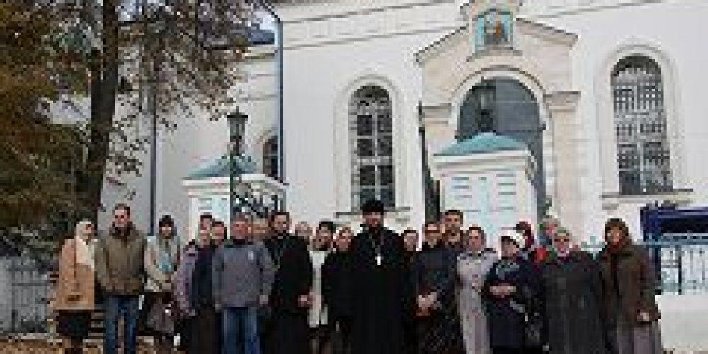 Прихожане храма всех святых на Соколе совершили паломническую поездку в Тульскую епархию