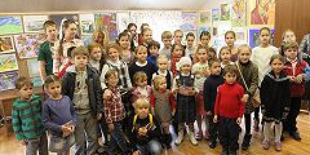 Состоялся один из отборочных этапов ежегодного конкурса детского рисунка «Красота Божьего мира»