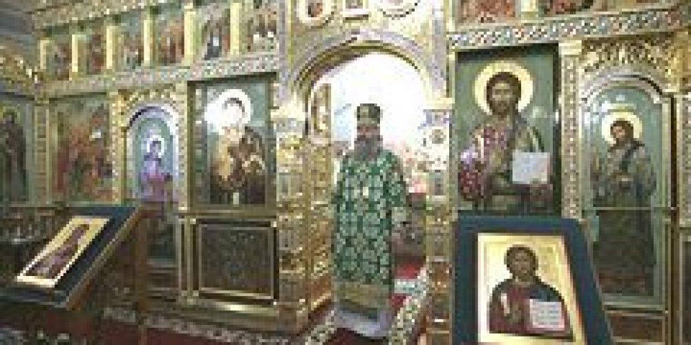 Архиепископ Сергиево-Посадский Феогност возглавил торжества по случаю престольного праздника Саввино-Сторожевского монастыря