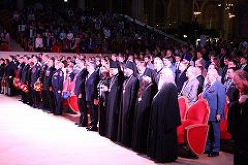 В Храме Христа Спасителя состоялось заключительное мероприятие Всероссийского фестиваля «Славим Отечество — 2015»