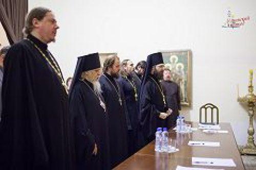 Епископ Орехово-Зуевский Пантелеимон возглавил приходское собрание Илиинского прихода в Черкизове
