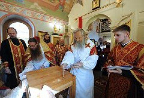 Состоялось великое освящение храма святых блгвв. кнн. Петра и Февронии в Покровском монастыре