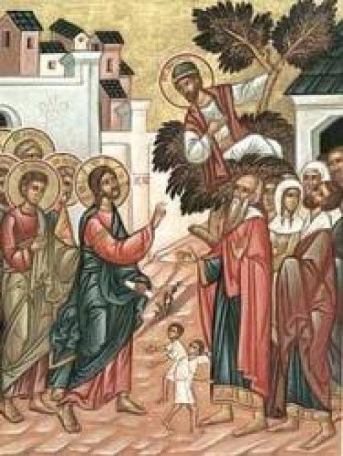 Слово в Неделю 33-ю по Пятидесятнице. О Закхее / Православие.Ru