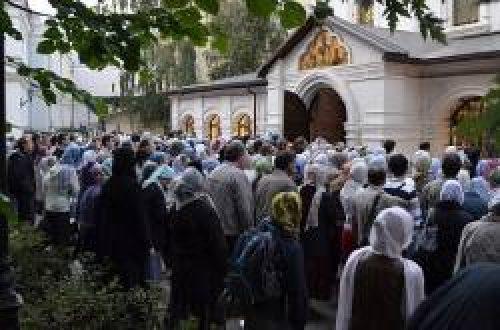 О новом храме Сретенского монастыря / Православие.Ru