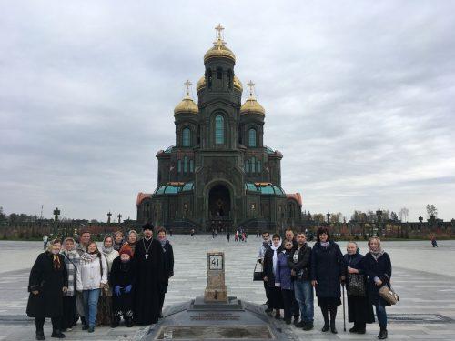 Гостями паломнического центра «Георгиевский» стали прихожане храма Преображения Господня в Лигово