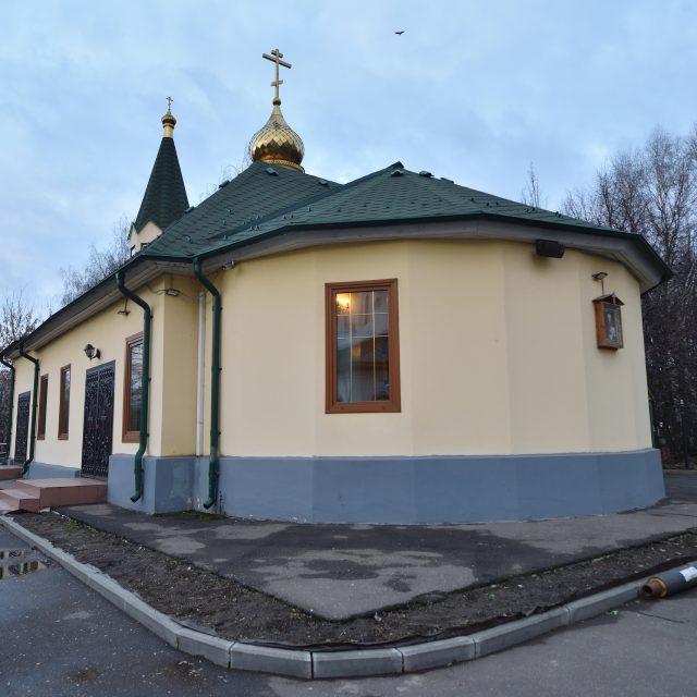 Престольный праздник отметили в малом храме прихода святого благоверного Александра Невского при МГИМО (+ видео)