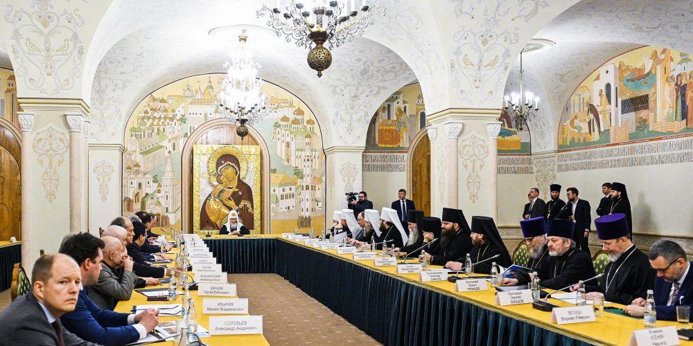 Епископ Фома принял участие в общем собрании членов Совета попечителей Храма Христа Спасителя