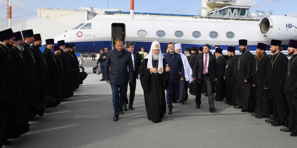 Епископ Павлово-Посадский Фома сопровождает Святейшего Патриарха в ходе первосвятительского визита в Самарскую митрополию (+ фото)