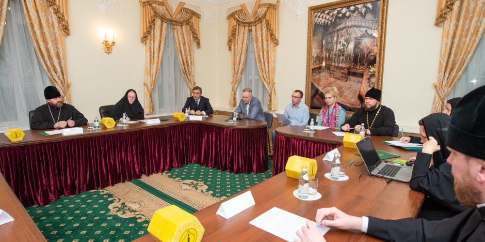 Епископ Фома принял участие в заседании Наблюдательного совета при Патриархе по контролю и организации деятельности художественно-производственного предприятия «Софрино»